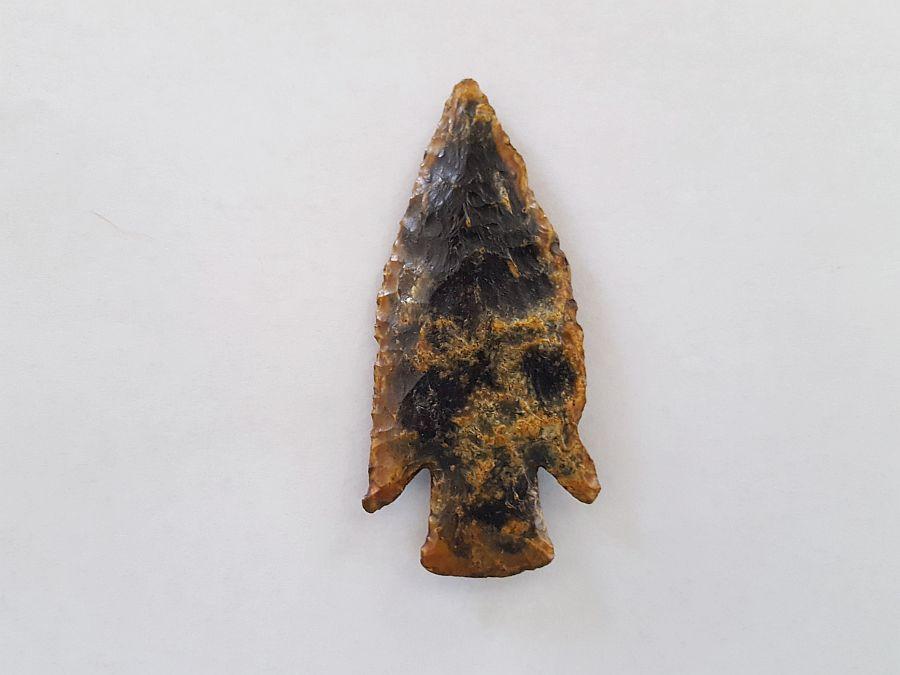 Fl. Hardin type Arrowhead, TRANSLUCENT CORAL!   Fossils & Artifacts for Sale   Paleo Enterprises   Fossils & Artifacts for Sale