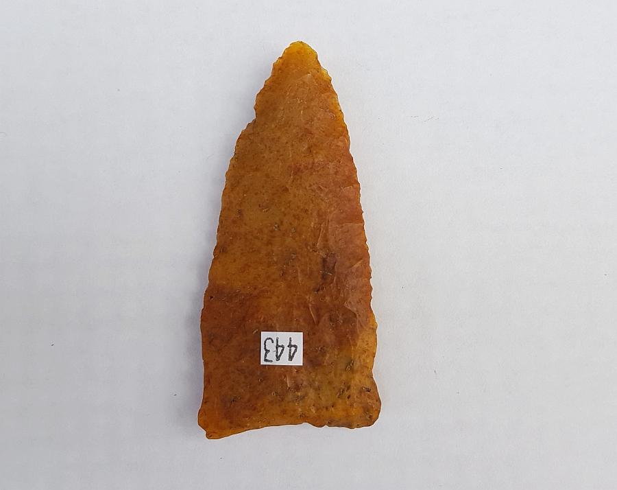 Fl. Suwannee type arrowhead, TRANSLUCENT CHERT! | Fossils & Artifacts for Sale | Paleo Enterprises | Fossils & Artifacts for Sale