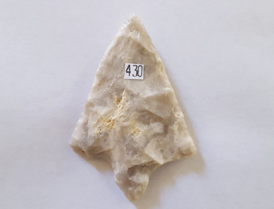 Fl. Marion type arrowhead | Fossils & Artifacts for Sale | Paleo Enterprises | Fossils & Artifacts for Sale