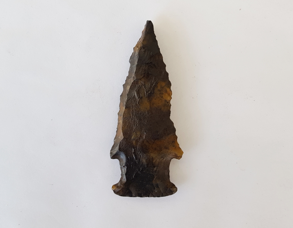 Fl. Bolen Bevel type arrowhead | Fossils & Artifacts for Sale | Paleo Enterprises | Fossils & Artifacts for Sale