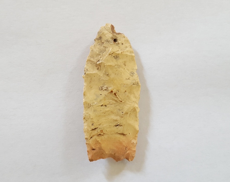 Georgia Clovis type Arrowhead w/COA! | Fossils & Artifacts for Sale | Paleo Enterprises | Fossils & Artifacts for Sale