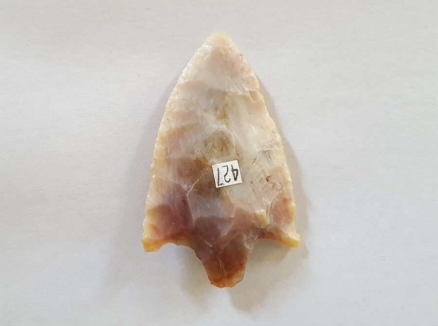 Cypress Creek type Arrowhead, TRANSLUCENT CORAL! | Fossils & Artifacts for Sale | Paleo Enterprises | Fossils & Artifacts for Sale