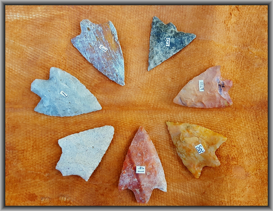 Native American Arrowheads and Artifacts