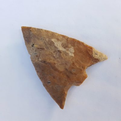 Fl. Hillsborough type arrowhead, PAPER THIN W/COA!