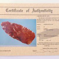 Fl. Cowhouse Slough type, TRANSLUCENT G10 PALEO w/Davis COA! | Fossils & Artifacts for Sale | Paleo Enterprises | Fossils & Artifacts for Sale