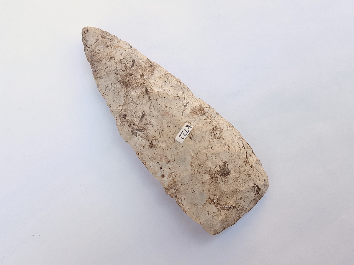 Fl. Cowhouse Slough type arrowhead, RARE. | Fossils & Artifacts for Sale | Paleo Enterprises | Fossils & Artifacts for Sale