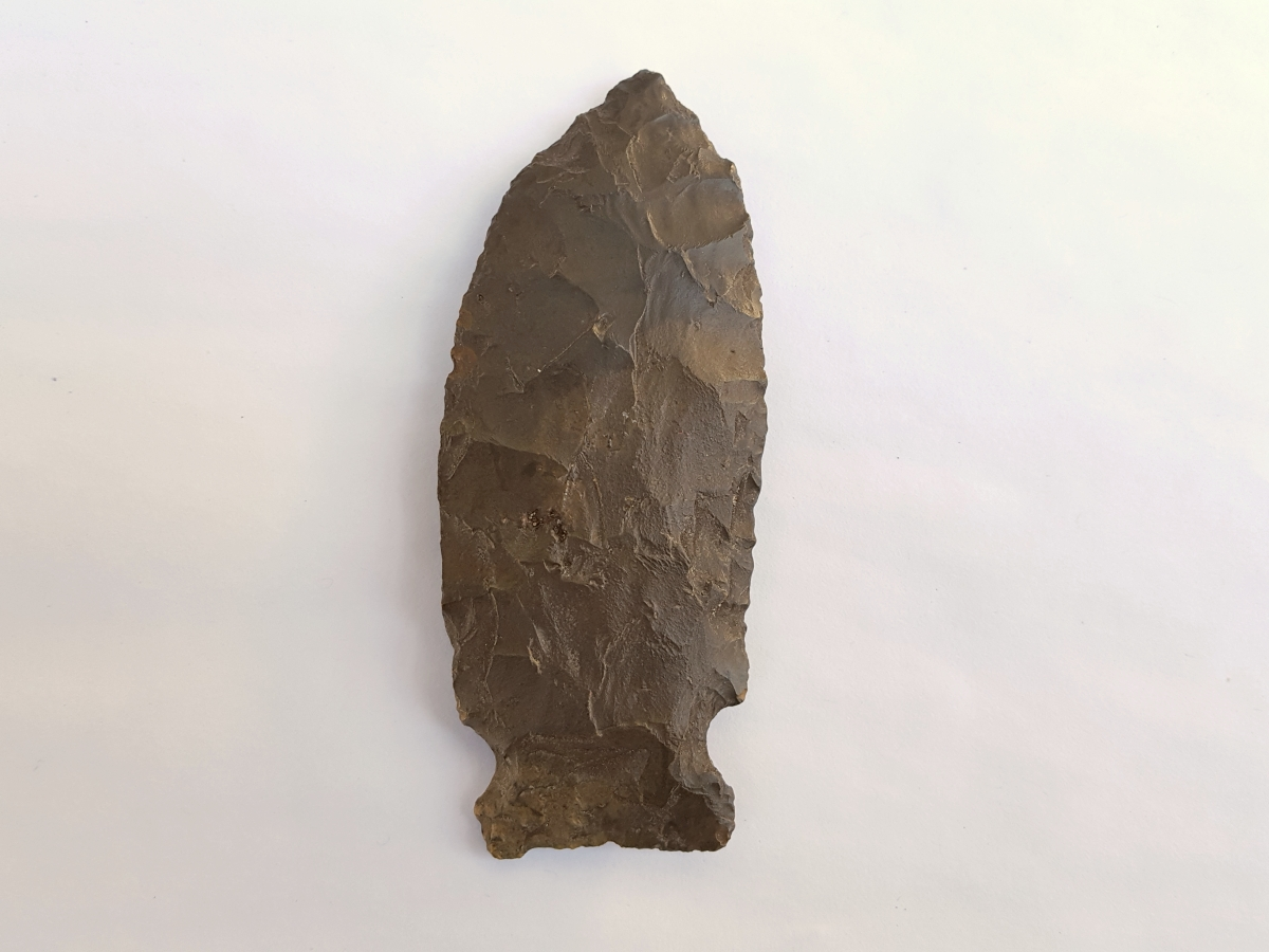 Fl. Greenbrier type arrowhead | Fossils & Artifacts for Sale | Paleo Enterprises | Fossils & Artifacts for Sale