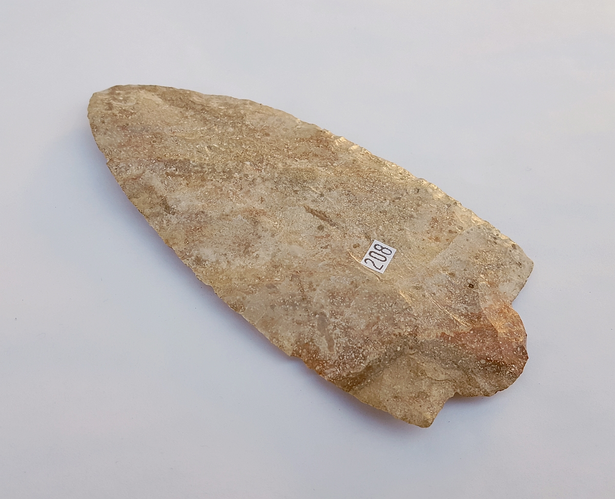 Fl. Pasco Knife w/COA, VERY RARE G9! | Fossils & Artifacts for Sale | Paleo Enterprises | Fossils & Artifacts for Sale