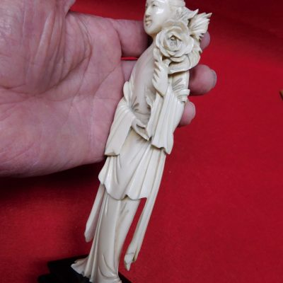 Antique Ivory Carving Fantastic Work