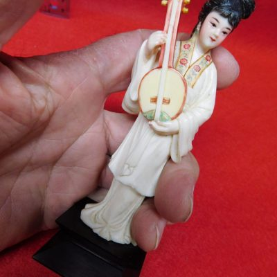 Antique Ivory Figurine 5″ Tall