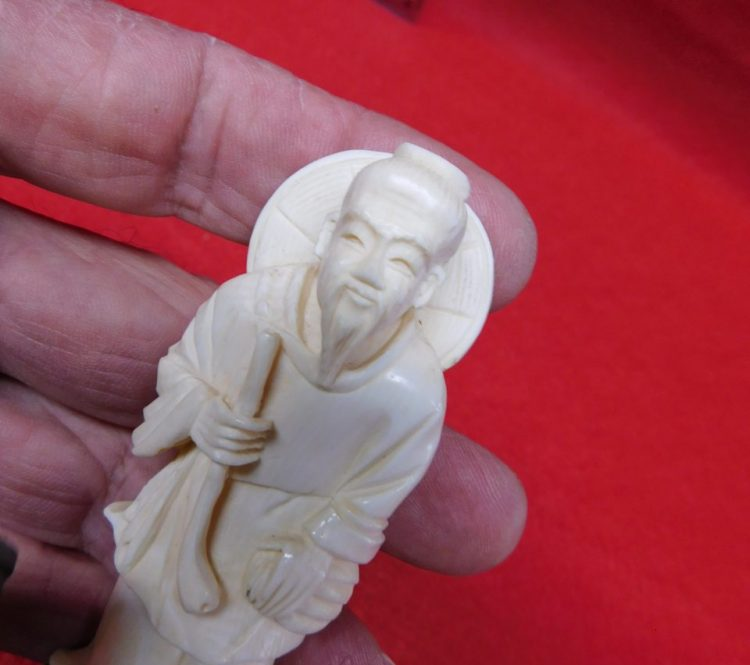 Antique Ivory Figurine | Fossils & Artifacts for Sale | Paleo Enterprises | Fossils & Artifacts for Sale