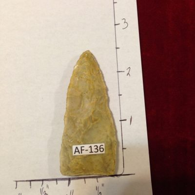 Safety Harbor Type Arrowhead / Artifact