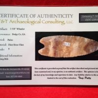 Wheeler 3 5/8 Inch with COA Paleo Artifact Waiting for second Cert. | Fossils & Artifacts for Sale | Paleo Enterprises | Fossils & Artifacts for Sale