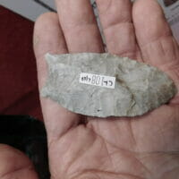 Flint Ridge Clovis with COA   Fossils & Artifacts for Sale   Paleo Enterprises   Fossils & Artifacts for Sale