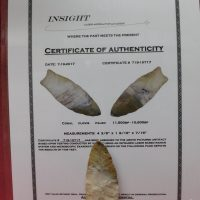 Coral Clovis Paleo Artifact   Fossils & Artifacts for Sale   Paleo Enterprises   Fossils & Artifacts for Sale