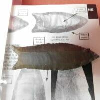 "Cumberland ""Barnes"" G-10 Paleo COA | Fossils & Artifacts for Sale | Paleo Enterprises | Fossils & Artifacts for Sale"