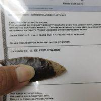 Paleo Clovis COA-G 10 | Fossils & Artifacts for Sale | Paleo Enterprises | Fossils & Artifacts for Sale